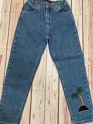 Mini Rodini Jeans 128 Eeuc Boys/Girls Organic Cotton