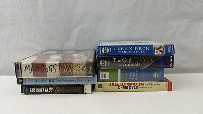 Lot of (07) Audiobooks on CD Lescroart, Archer, Grady, Beck