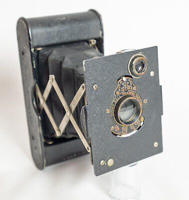 A great-looking, working,  Kodak, vest pocket, autographic antique camera.
