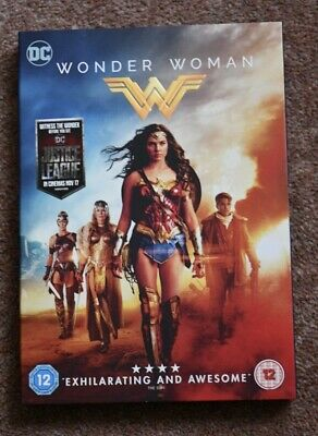 Wonder Woman 2017 Gal Gadot Chris Pine DVD