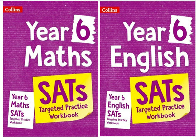 NEW KS2 SATS English & Maths - Revision Set by Books Question Test 2020