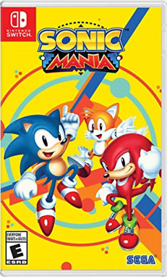 Sonic Mania Plus Nintendo Switch Game (UK IMPORT) GAME NEW