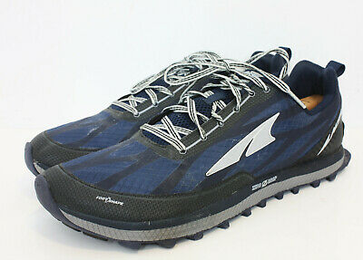 Altra Superior 3.0 Zero Drop Blue Grey Trail Running Shoes Mens Size 12 M