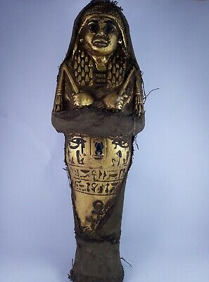 RARE ANCIENT EGYPTIAN ANTIQUE QUEEN USHABTI Shabti 1551-1221 BC
