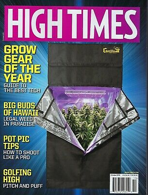 High Times Magazine October 2019