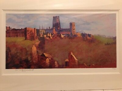 Rolf Harris Durham Cathedral Signed Limited Edition Print