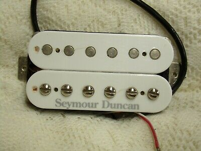Seymour Duncan SH-11 White Humbucker Electric Guitar Les Paul Strat Stratocaster