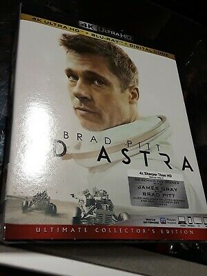 Ad Astra 4K / Bluray / Digital W/Slipcover BRAND NEW FACTORY SEALED FREE SHIP