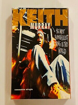 KEITH MURRAY The Most Beautifullest Thing In This World 1994 CASSETTE SINGLE New