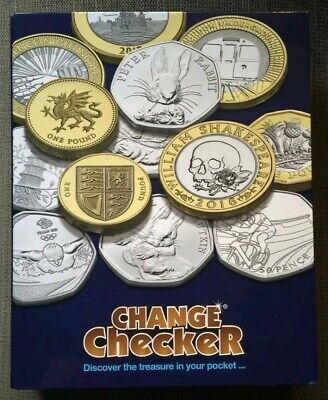 2012 London Olympic Sport 50p BU Coins Complete Set in New Change Checker Album