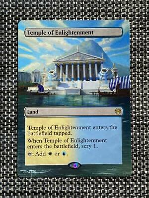 Temple of Enlightenment MTG Magic Theros Death Hand Painted Altered Art Tentz