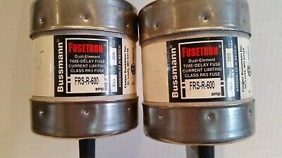 Cooper Bussmann FRS-R-600 Fusetron Class RK5, 600V, Time-Delay Fuse