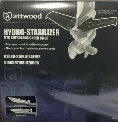 New Hydro Stabilizer attwood Marine 9400-7 50 hp /& Up