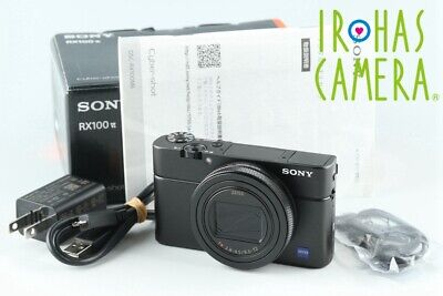 Sony Cyber-Shot DSC-RX100M6 Digital Camera With Box *JP Language Only * #26207