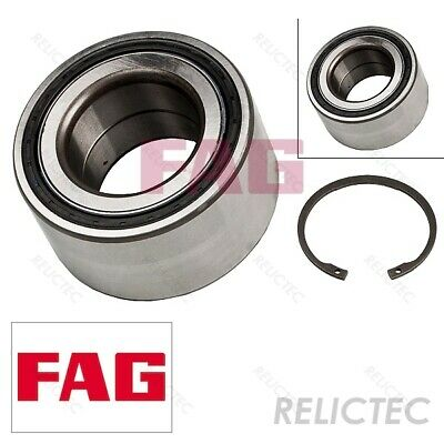 Wheel Bearing Kit fits KIA CEED ED Front Left or Right 1.6 1.6D 2012 ADL Quality