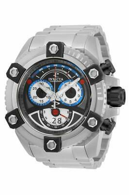 Invicta Men 63mm Reserve Grand Arsenal Swiss 8040N Chronograph Stainless Steel..