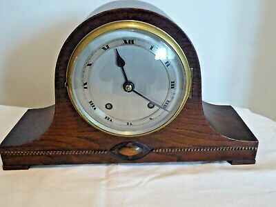 Lovely Napoleon Hat Chiming Mantle Clock Made In England