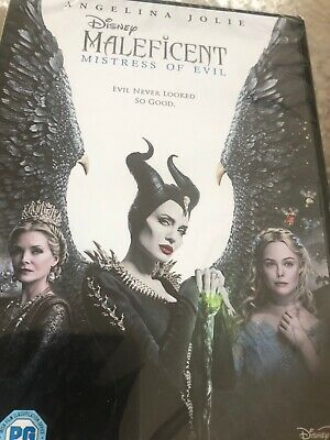 Disney's Maleficent: Mistress of Evil. New Sealed DVD (2nd movie)