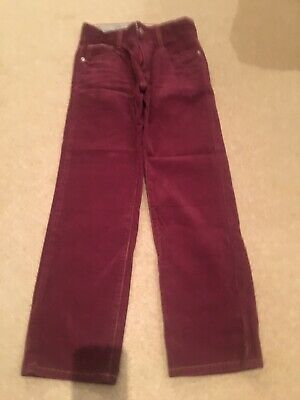 * Brand New * Mini Boden Boys Cord Trousers Age 9 Yrs