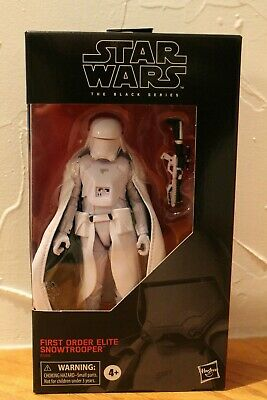 Hasbro Star Wars The Black Series First Order Elite Snowtrooper Target Exclusive