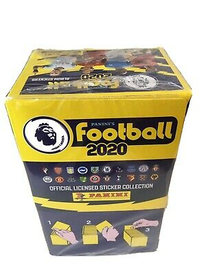 Panini Premier League 2020 Stickers Complete Box (Sealed) 100 Packs