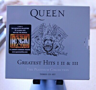 Queen - Greatest Hits I II & III (The Platinum Collection)