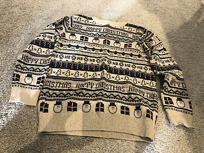Next Boys Christmas Jumper Boys Age 8 Years - Worn Once!