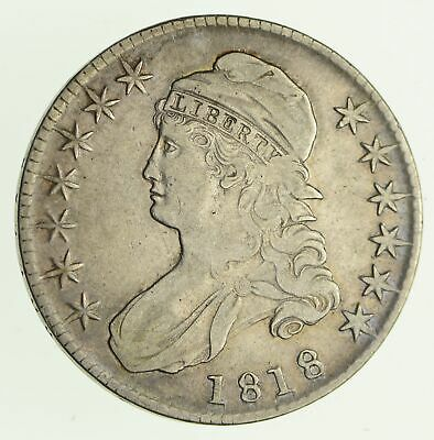 1818 Capped Bust Half Dollar - Circulated *4188