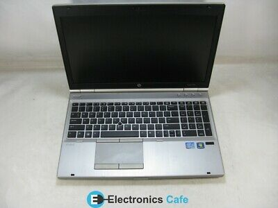 "HP EliteBook 8570P 15.5"" Laptop 2.7GHz Core i5 3rd Gen 4GB RAM (Grade C)"
