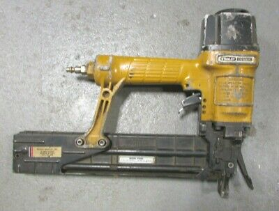Stanley Bostitch Pneumatic Power Stapler Staple Gun T50S5 Used