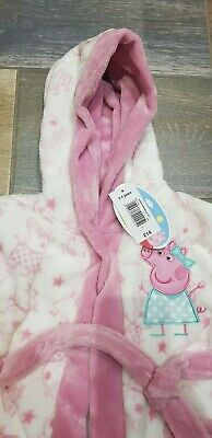 New age 3-4 girls Peppa Pig dressing gown