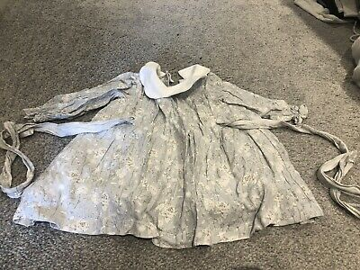 DOT Grey Girls Baby Toddler Dress Spanish Clothes Size 12-18 Months Worn Once!