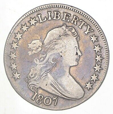 1807 Draped Bust Half Dollar *6300