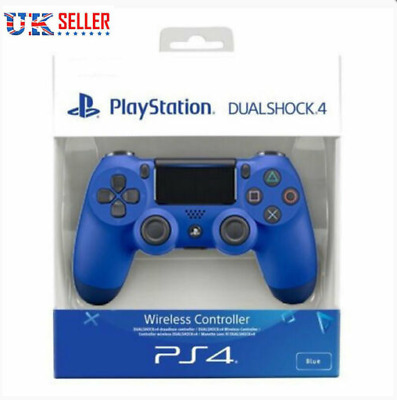 PS4 DualShock 4 Controller Wave (Blue)V2 BRAND NEW SEALED SONY UK