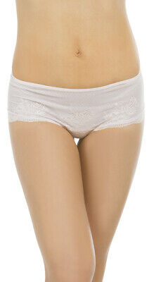 Medium Womens Retro Fresh Mauve Boyshort, Mauve Lace Panty