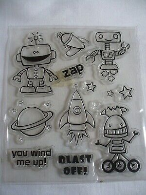 Pizza Slice Clear Stamps /& Dies Set By Recollections 13 PC 535933 NEW