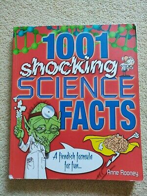 1001 Shocking Science facts, by Anne Rooney Paperback