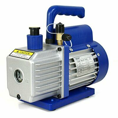 ZENY 3,5CFM Single-Stage 5 Pa Rotary Vane Economy Vacuum Pump 3 CFM 1/4HP Air