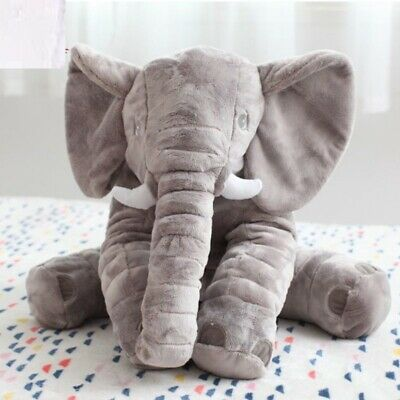 Baby Bedroom Pillow Cute Elephant Shape Infant Baby Soft Cushion Kids Toy Set