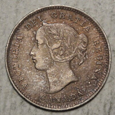 Canada Five Cents 1897, Extremely Fine - Discounted 0603-97