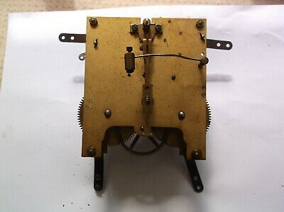 MECHANISM  FROM AN OLD  MANTLE CLOCK WORKING ORDER REF cr99