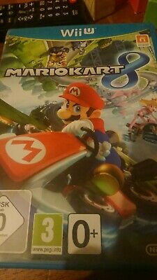 Mario Kart 8 (Nintendo Wii U, 2012) Great Condition.