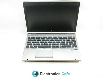 "HP EliteBook 8570p 15.6"" Laptop 2.6GHz Core i5 3rd 4GB RAM (Grade C No Caddy)"