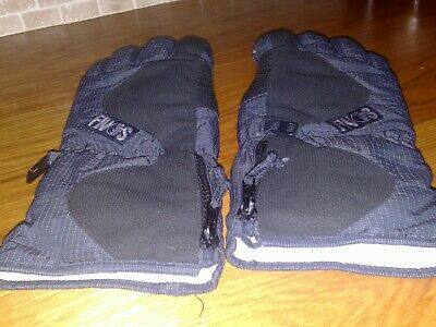 Mens gloves black size medium used