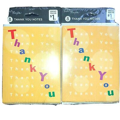 ~Small Cards All Same~10-count~Tender Thoughts~By AGC Thank You- Blank Inside