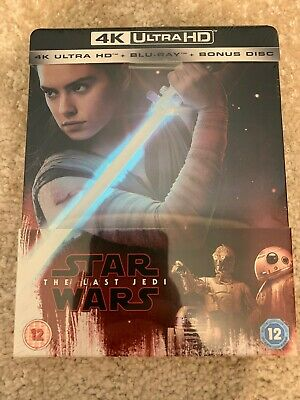 Star Wars: The Last Jedi 4K UHD Limited Edition Steelbook
