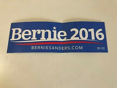 BERNIE SANDERS Presidential Campaign Official STICKER 2016 primary election