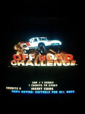 Offroad Challenge Midway Off Road Jamma Arcade PCB Board Game Working