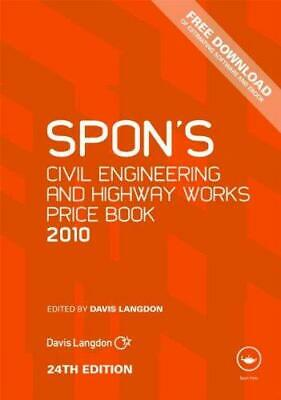 Spon's Civil Engineering and Highway Works Price Book 2010 (Spon's Price Books),