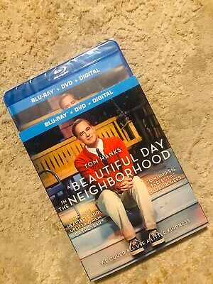 A BEAUTIFUL DAY IN THE NEIGHBORHOOD BLU RAY DISC ONLY!! Tom Hanks Mister Rogers